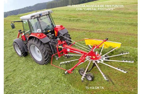 fella > TS 456 DN TA - 1 rotor / eje tándem
