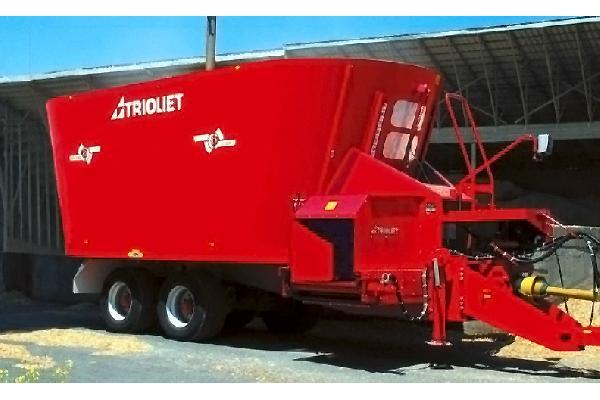 trioliet Solomix 2 - 2400 L a 3200 VLX K T