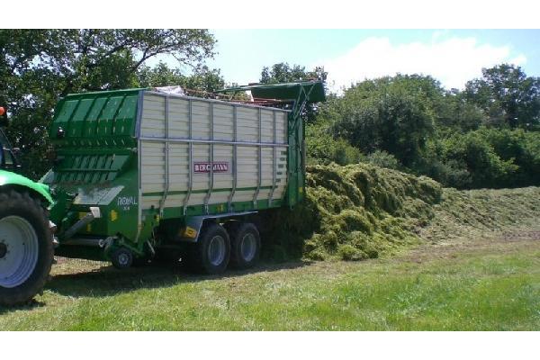 bergmann > ROYAL 30 K - 54 m³ - Pick-up 1,90 m. - eje tandem 16 Tons. - freno hidráulico