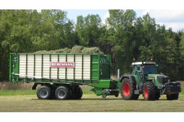 bergmann > SHUTTLE 860 S - 75,6 m³ - Pick-up 2,27 m. - eje tandem 23 Tons. - freno hidráulico