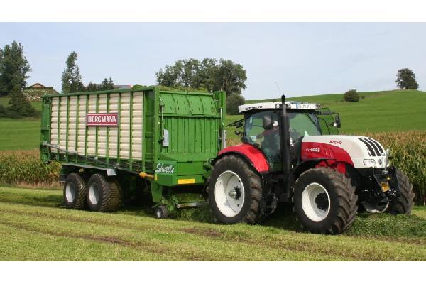 bergmann > SHUTTLE 900 K - 79,2 m³ - Pick-up 2,27 m. - eje tandem 23 Tons. - freno hidráulico