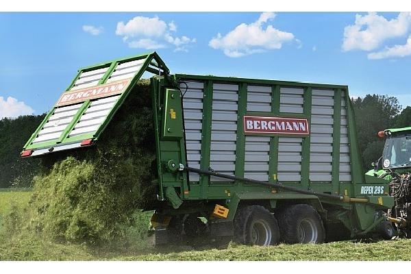 bergmann > REPEX 29 S - 50,4 m³ - Pick-up 1,94 m. - eje tandem 18 Tons. - freno hidráulico