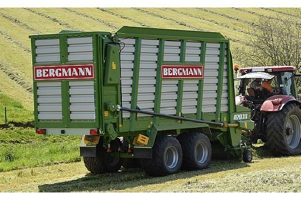 bergmann > REPEX 31 S - 56 m³ - Pick-up 1,94 m. - eje tandem 18 Tons. - freno hidráulico