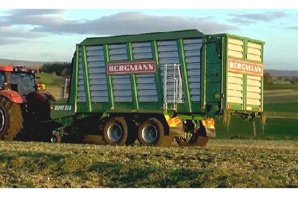 bergmann > REPEX 32 K - 58,3 m³ - Pick-up 1,94 m. - eje tandem 18 Tons. - freno hidráulico