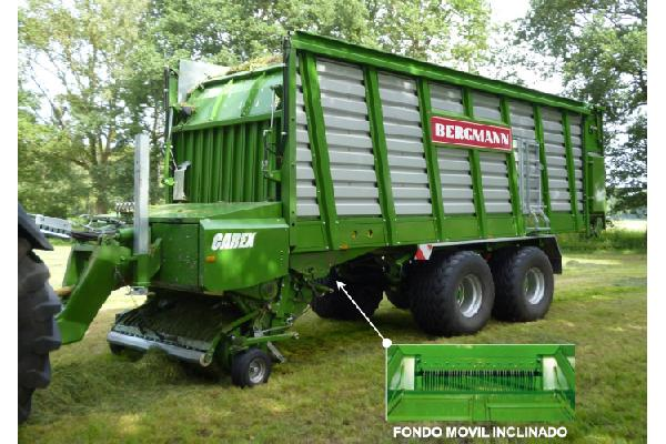 bergmann > CAREX 39 K - 70,2 m³ - Pick-up 1,94 m. - eje tandem 24 Tons. - freno hidráulico