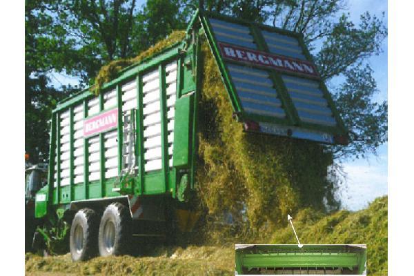 bergmann > CAREX 38 S - 68,4 m³ - Pick-up 1,94 m. - eje tandem 24 Tons. - freno hidráulico
